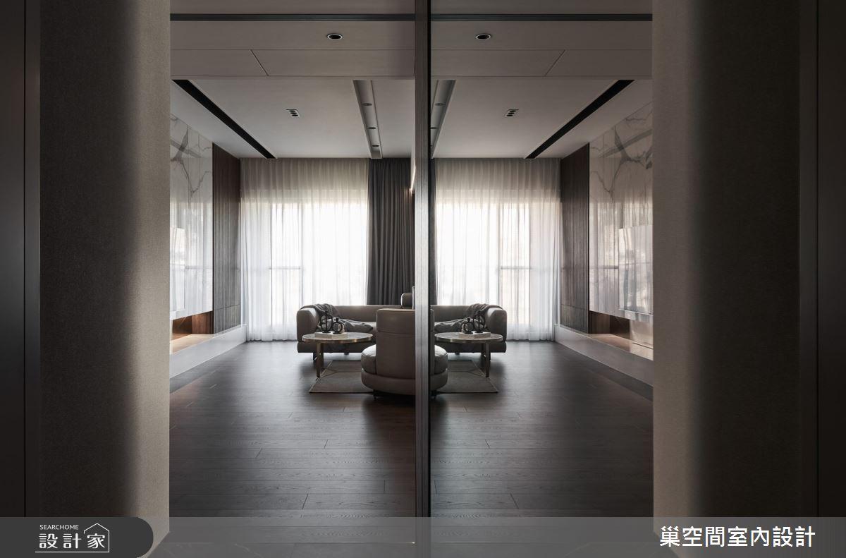 55坪新成屋(5年以下)_現代風客廳案例圖片_巢空間室內設計_巢空間_12之4