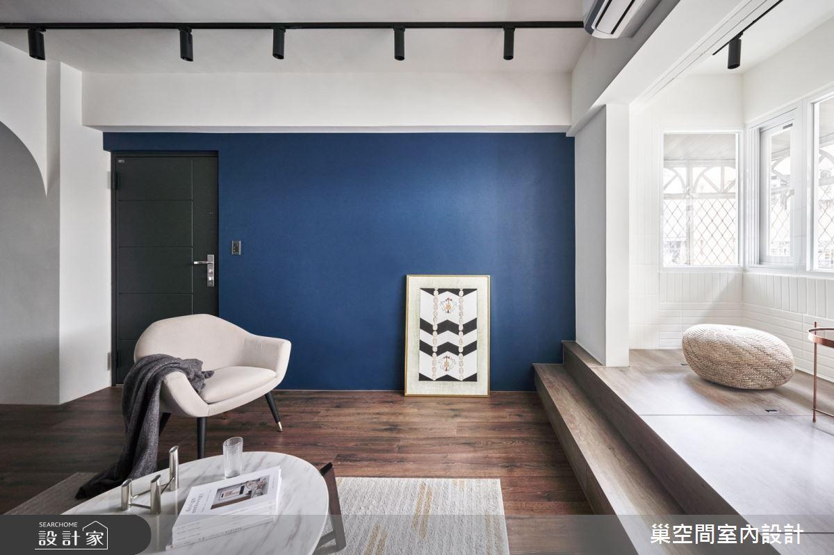 35坪老屋(31~40年)_現代風客廳案例圖片_巢空間室內設計_巢空間_14Bon Appétit之1