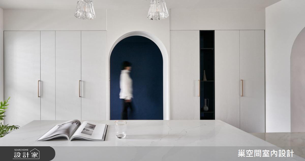 35坪老屋(31~40年)_現代風吧檯案例圖片_巢空間室內設計_巢空間_14Bon Appétit之8