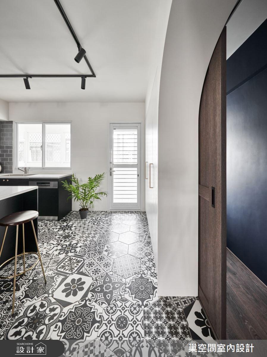 35坪老屋(31~40年)_現代風餐廳廚房案例圖片_巢空間室內設計_巢空間_14Bon Appétit之10