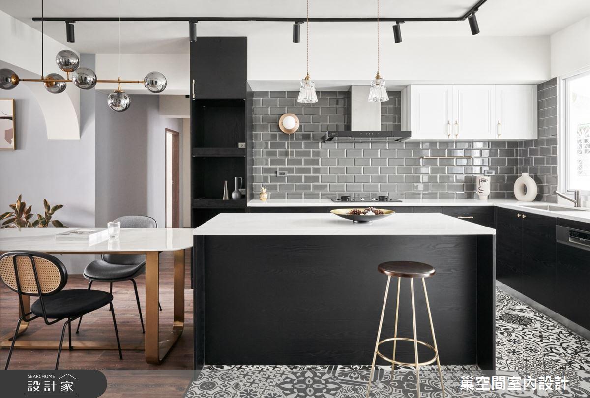 35坪老屋(31~40年)_現代風餐廳廚房案例圖片_巢空間室內設計_巢空間_14Bon Appétit之14