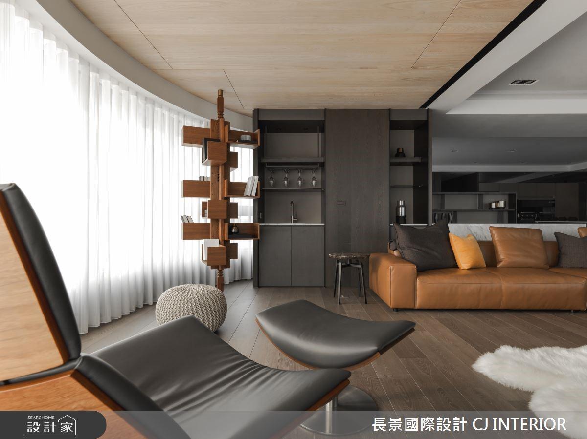 150坪新成屋(5年以下)_混搭風客廳案例圖片_長景國際有限公司_長景_13之5