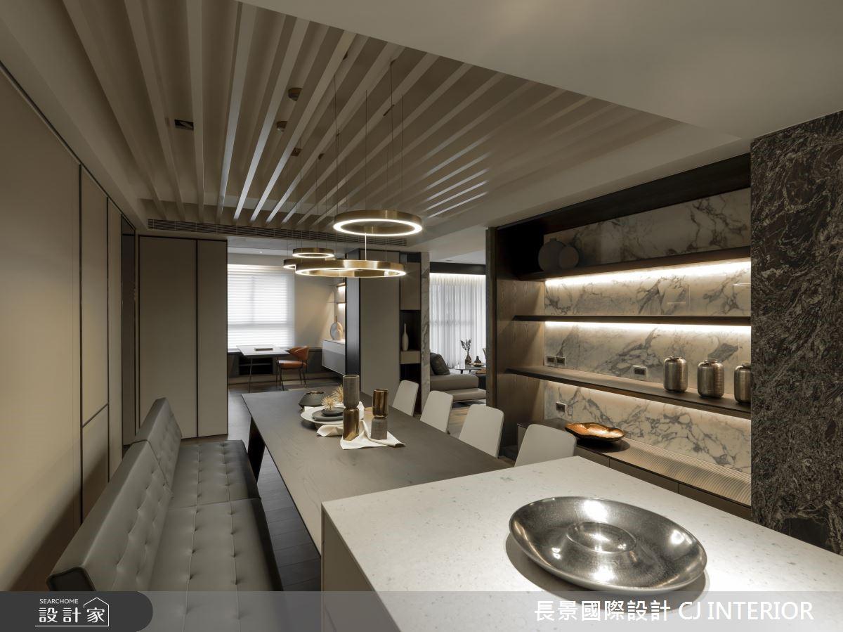 111坪新成屋(5年以下)_現代風餐廳案例圖片_長景國際有限公司_長景_16之6