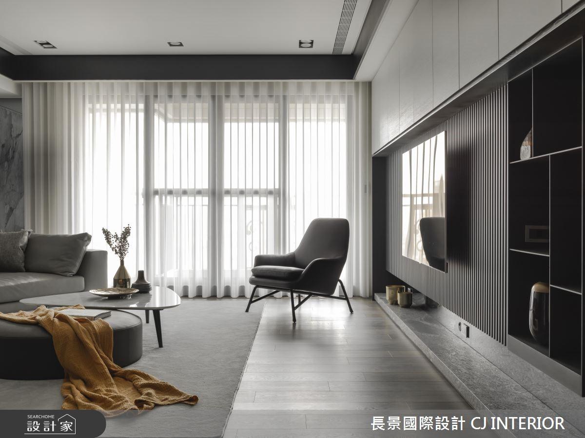111坪新成屋(5年以下)_現代風客廳案例圖片_長景國際有限公司_長景_16之2