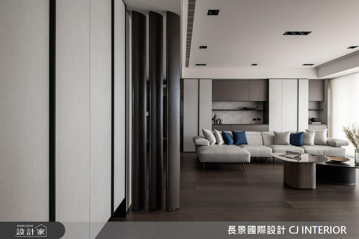 112坪新成屋(5年以下)_現代風客廳案例圖片_長景國際有限公司_長景_24之1