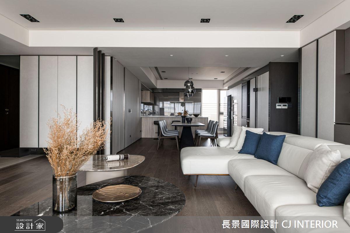 112坪新成屋(5年以下)_現代風客廳案例圖片_長景國際有限公司_長景_24之3