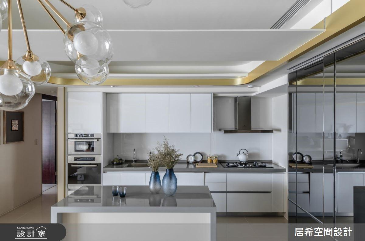 52坪新成屋(5年以下)_奢華風廚房案例圖片_居希室內設計有限公司_居希_01之5