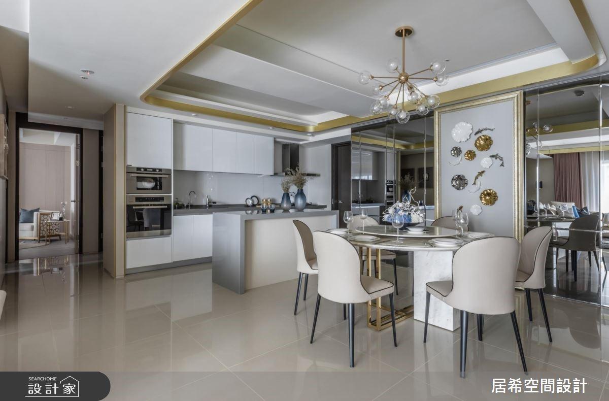 52坪新成屋(5年以下)_奢華風餐廳案例圖片_居希室內設計有限公司_居希_01之4