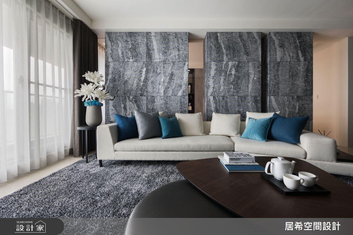 36坪新成屋(5年以下)_現代風客廳案例圖片_居希室內設計有限公司_居希_03之4