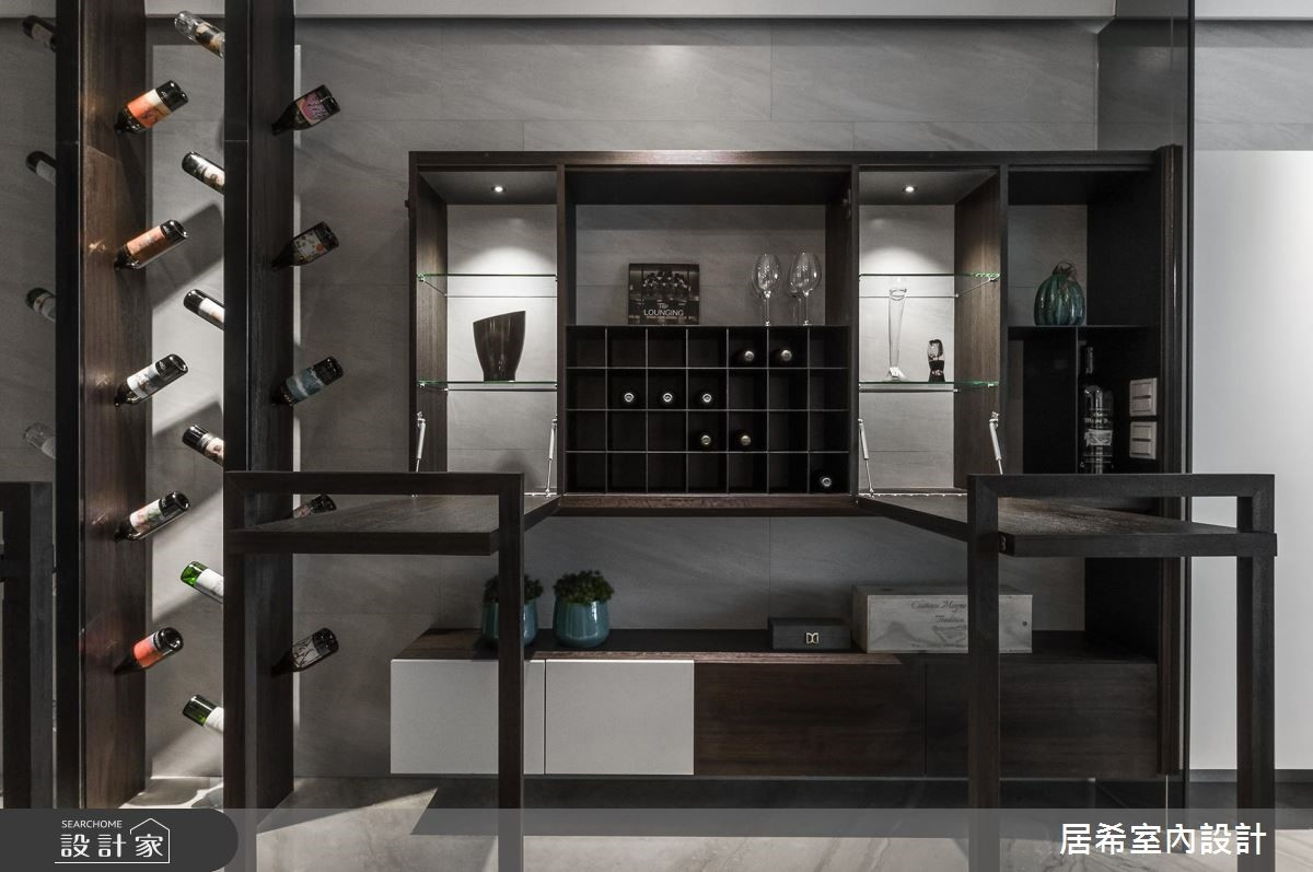 20坪新成屋(5年以下)_新中式風玄關案例圖片_居希室內設計有限公司_居希_05之3
