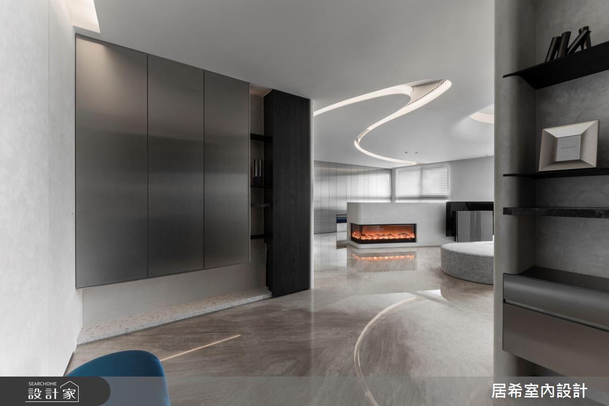 56坪新成屋(5年以下)_現代風玄關案例圖片_居希室內設計有限公司_居希_10之1