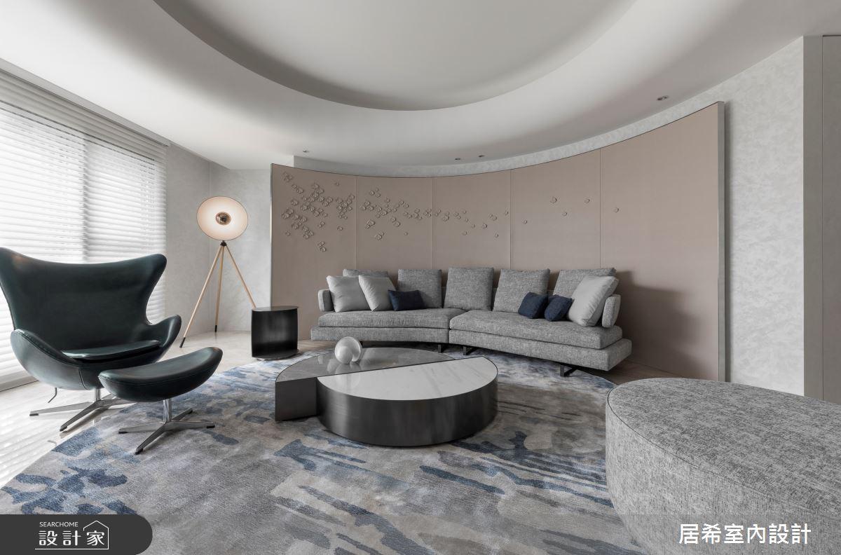 56坪新成屋(5年以下)_現代風客廳案例圖片_居希室內設計有限公司_居希_10之4