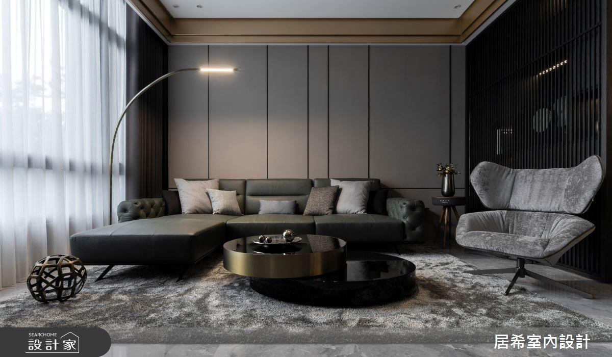 80坪新成屋(5年以下)_現代風客廳案例圖片_居希室內設計有限公司_居希_11之1