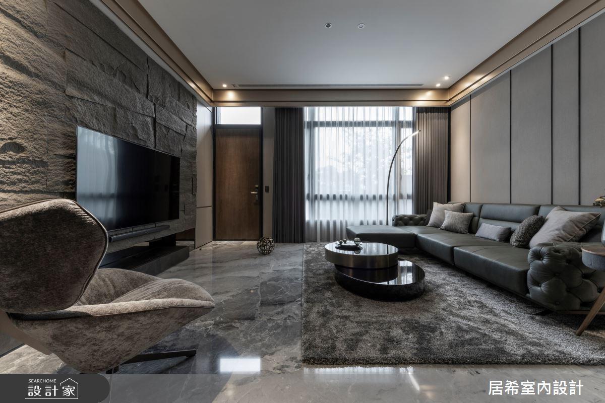 80坪新成屋(5年以下)_現代風客廳案例圖片_居希室內設計有限公司_居希_11之2