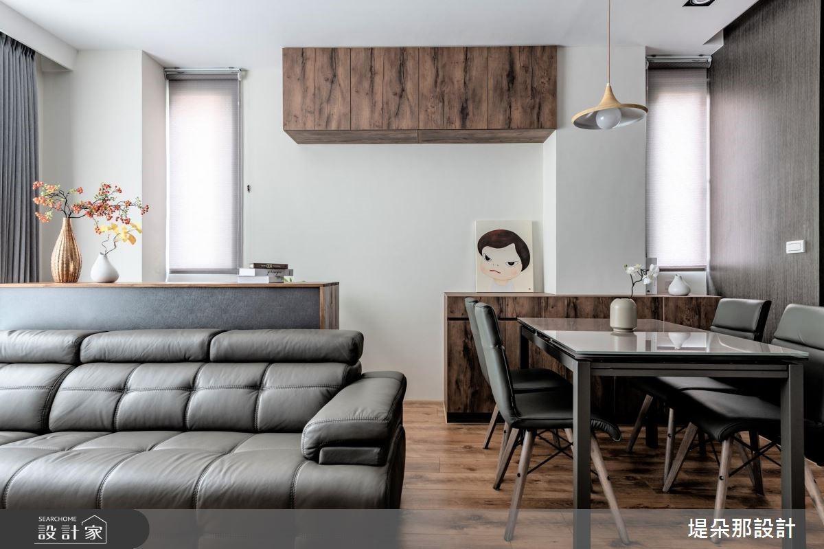 50坪新成屋(5年以下)_北歐風客廳餐廳案例圖片_堤朵那設計 Tectona Design_堤朵那_01之3