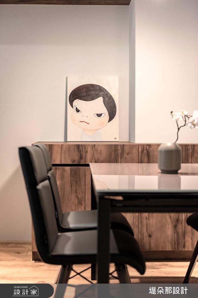 50坪新成屋(5年以下)_北歐風餐廳案例圖片_堤朵那設計 Tectona Design_堤朵那_01之4