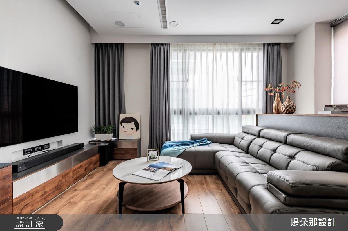 50坪新成屋(5年以下)_北歐風客廳案例圖片_堤朵那設計 Tectona Design_堤朵那_01之1