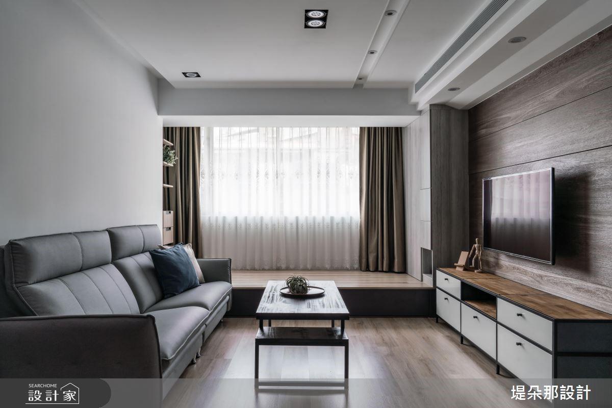 27坪老屋(16~30年)_混搭風客廳和室案例圖片_堤朵那設計 Tectona Design_堤朵那_02之2