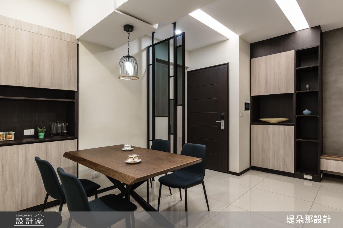 37坪新成屋(5年以下)_混搭風玄關餐廳案例圖片_堤朵那設計 Tectona Design_堤朵那_03之7