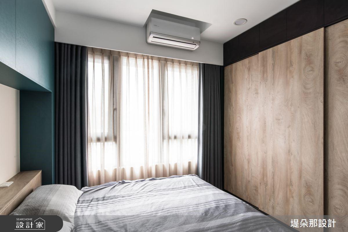 37坪新成屋(5年以下)_混搭風臥室案例圖片_堤朵那設計 Tectona Design_堤朵那_03之12