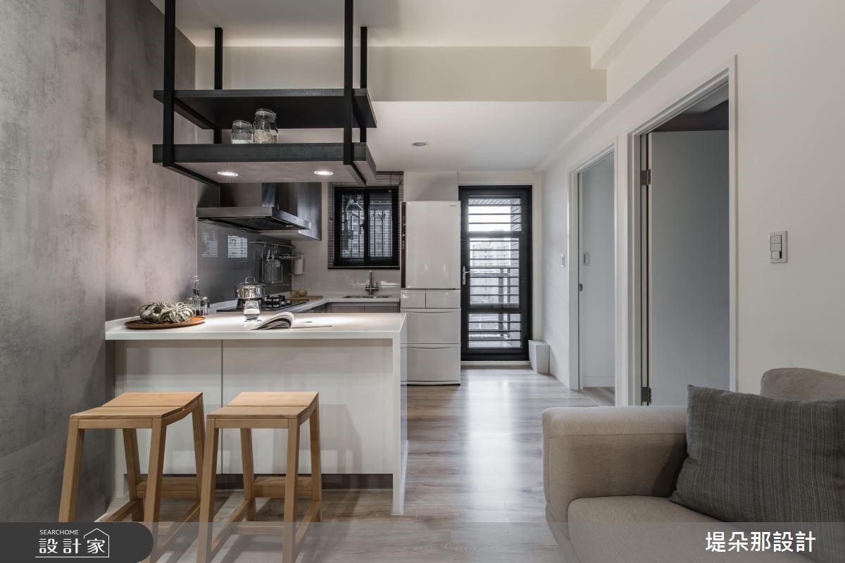 20坪新成屋(5年以下)_混搭風廚房吧檯走廊案例圖片_堤朵那設計 Tectona Design_堤朵那_04之6