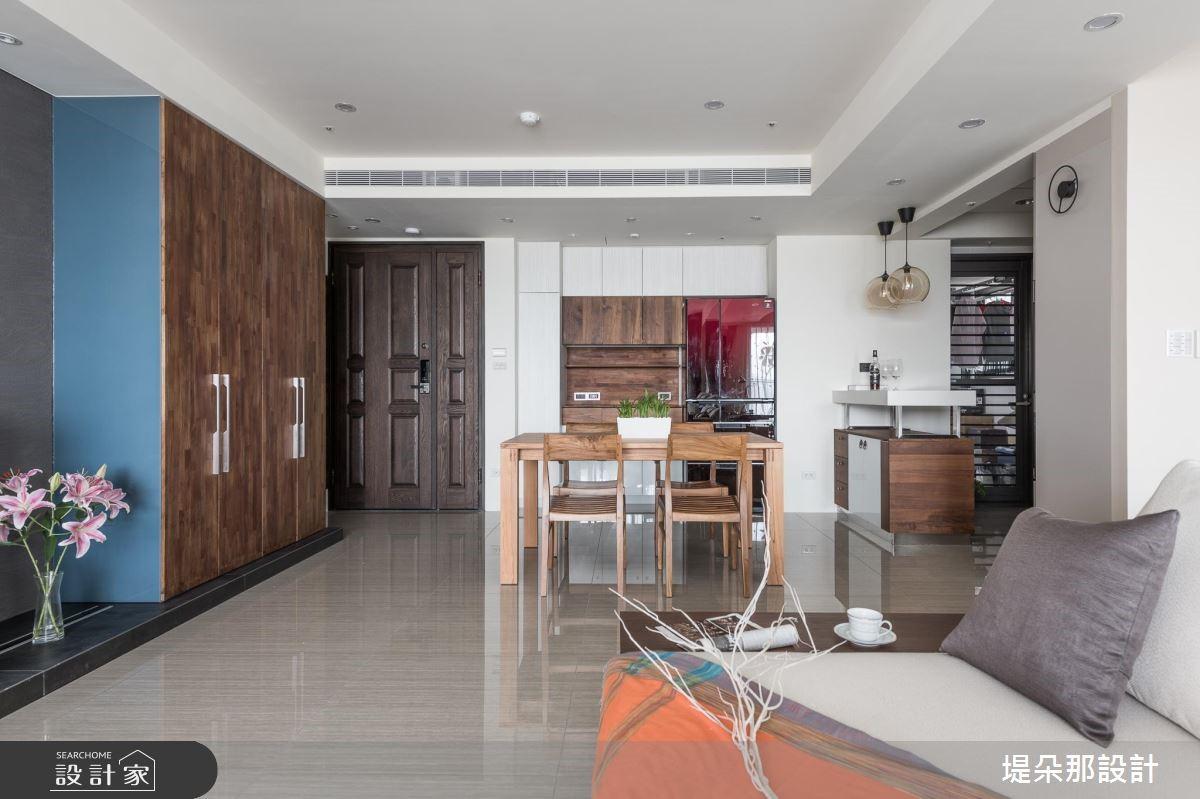 40坪新成屋(5年以下)_現代風客廳案例圖片_堤朵那設計 Tectona Design_堤朵那_06之2
