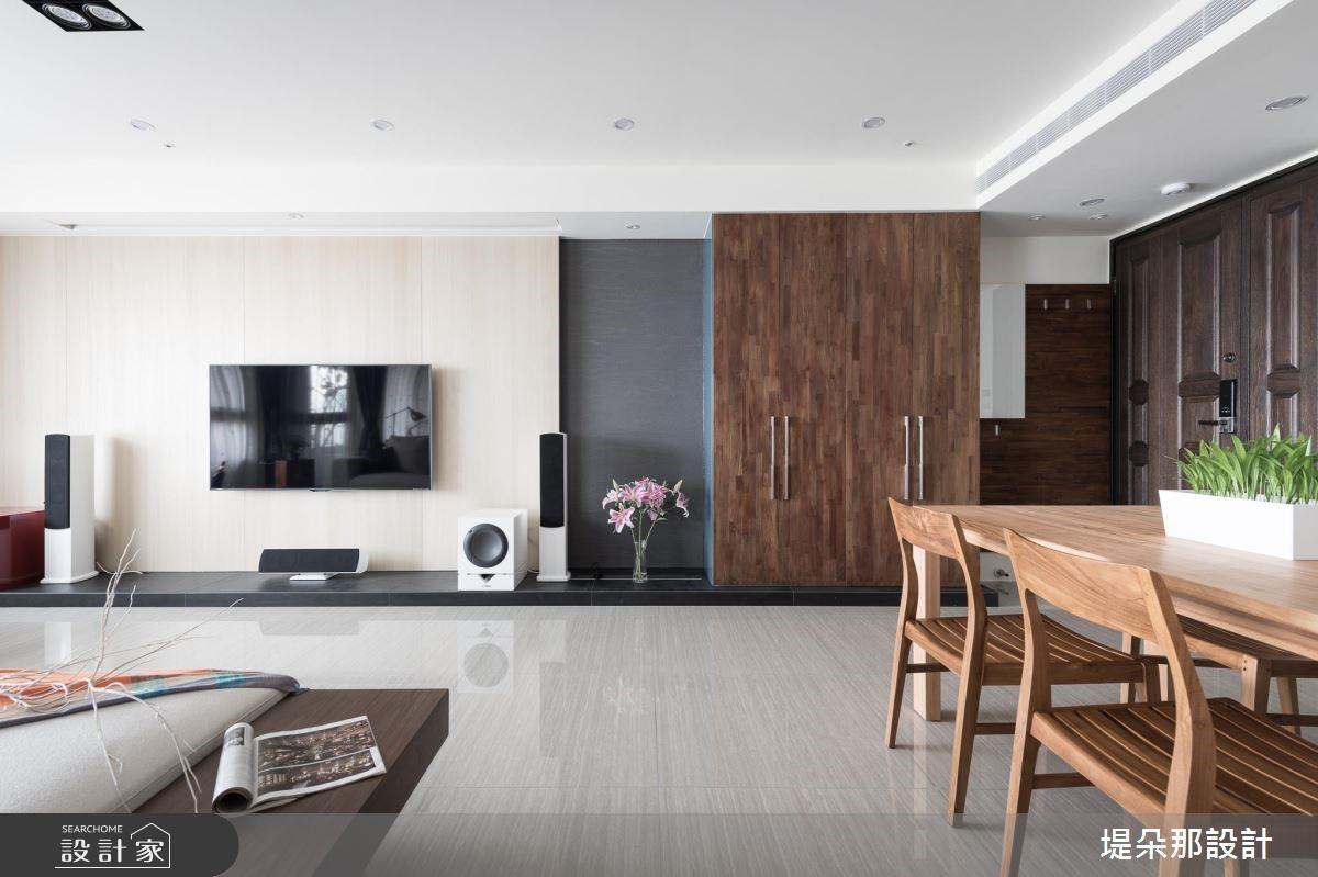 40坪新成屋(5年以下)_現代風客廳餐廳案例圖片_堤朵那設計 Tectona Design_堤朵那_06之3