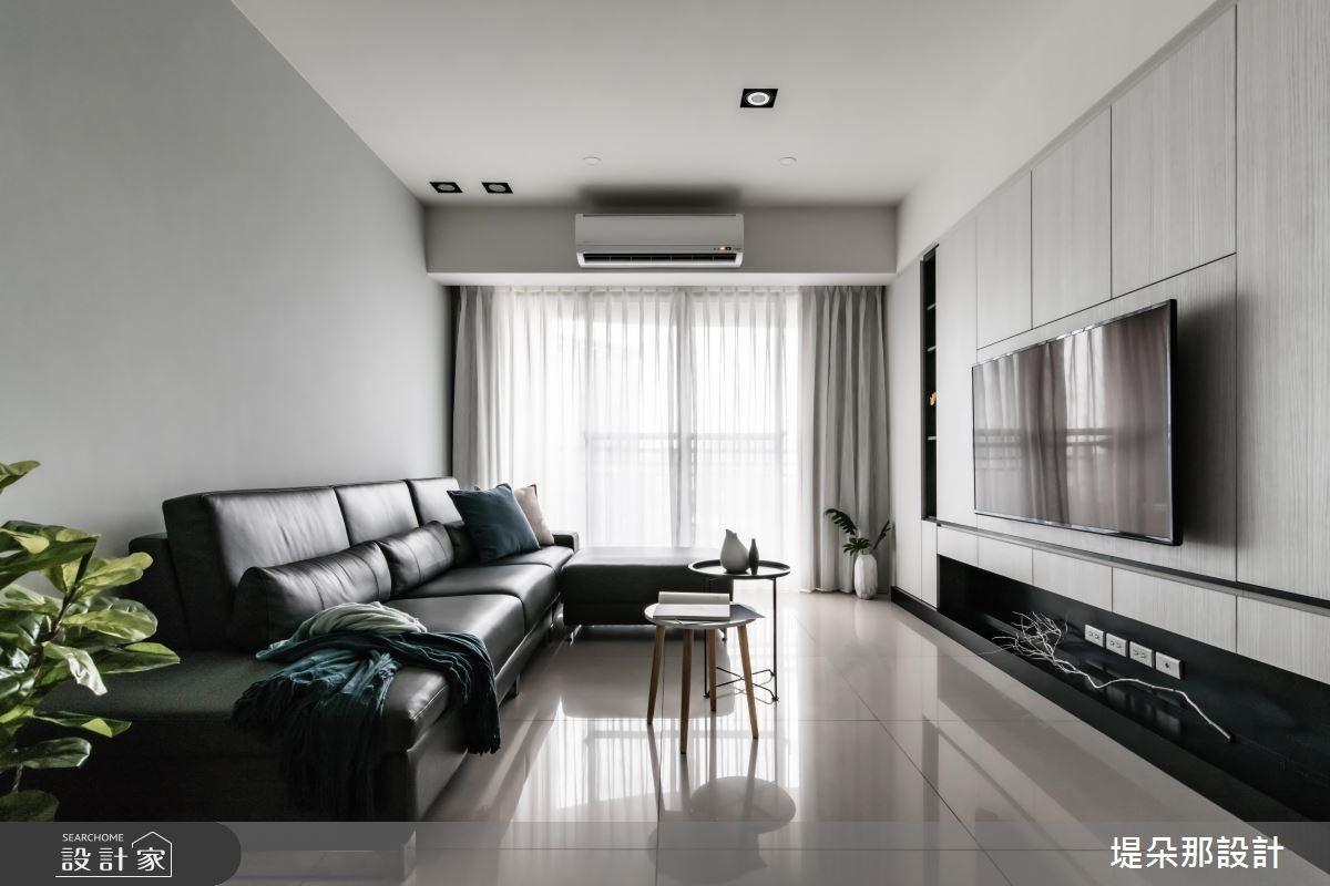 30坪新成屋(5年以下)_北歐風客廳案例圖片_堤朵那設計 Tectona Design_堤朵那_07之2