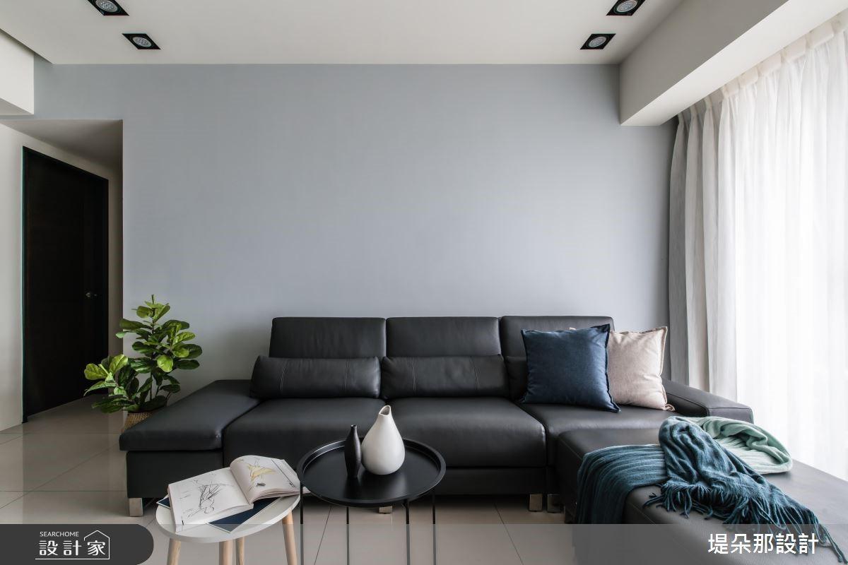 30坪新成屋(5年以下)_北歐風客廳案例圖片_堤朵那設計 Tectona Design_堤朵那_07之4