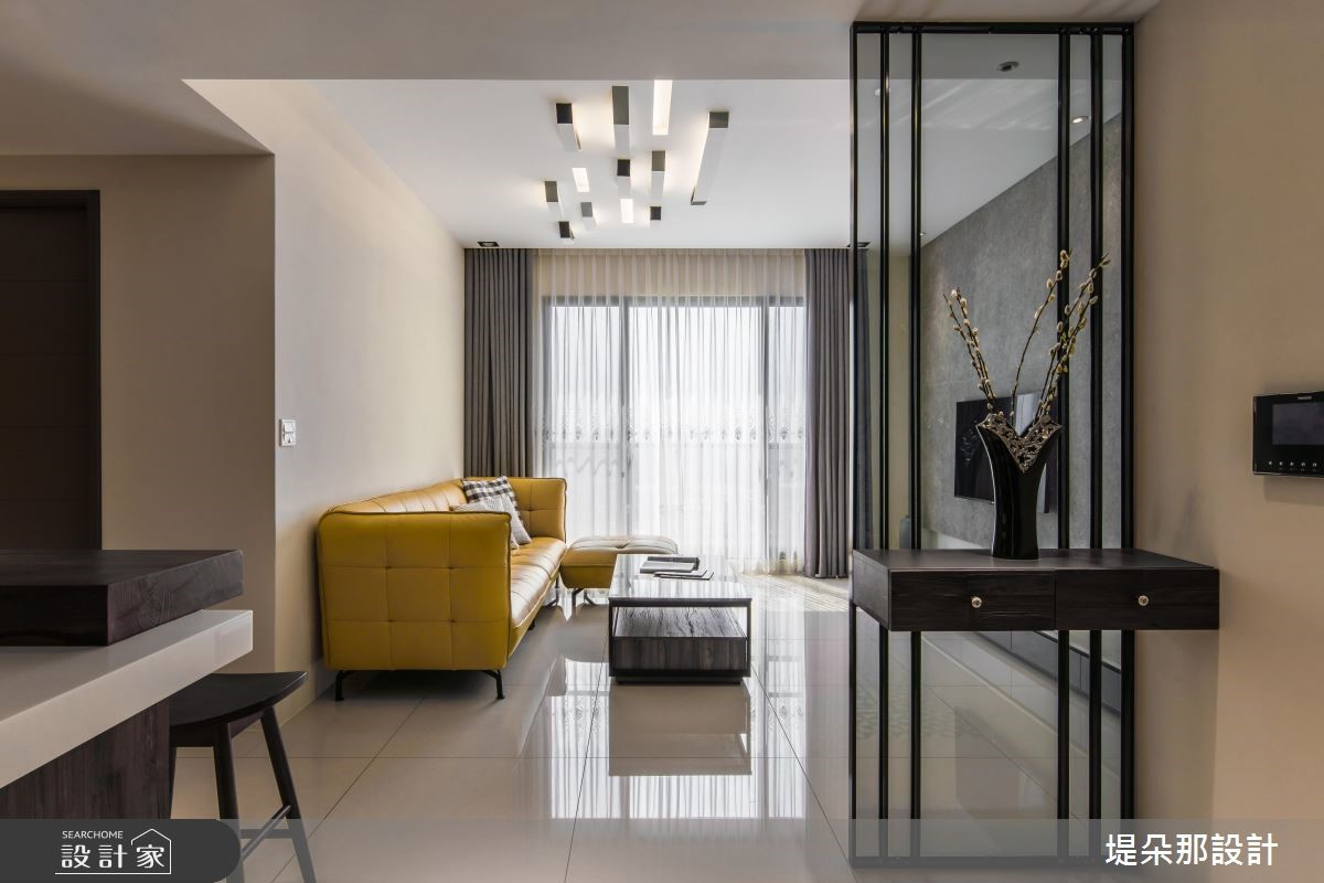 30坪新成屋(5年以下)_現代風客廳案例圖片_堤朵那設計 Tectona Design_堤朵那_09之3