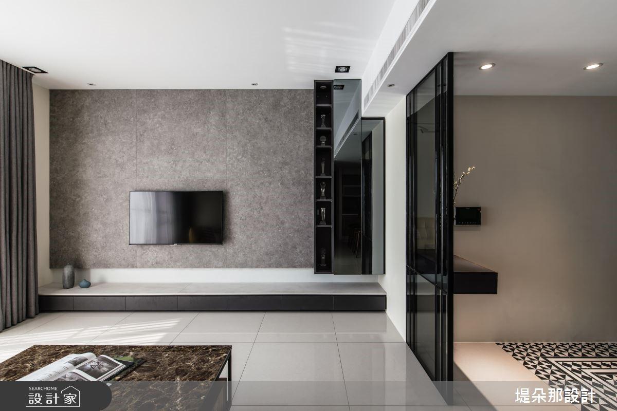 30坪新成屋(5年以下)_現代風玄關客廳案例圖片_堤朵那設計 Tectona Design_堤朵那_09之2