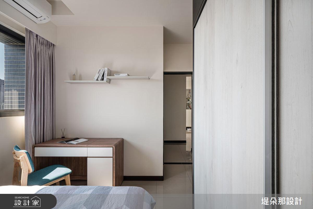 23坪新成屋(5年以下)_北歐風臥室案例圖片_堤朵那設計 Tectona Design_堤朵那_10之9