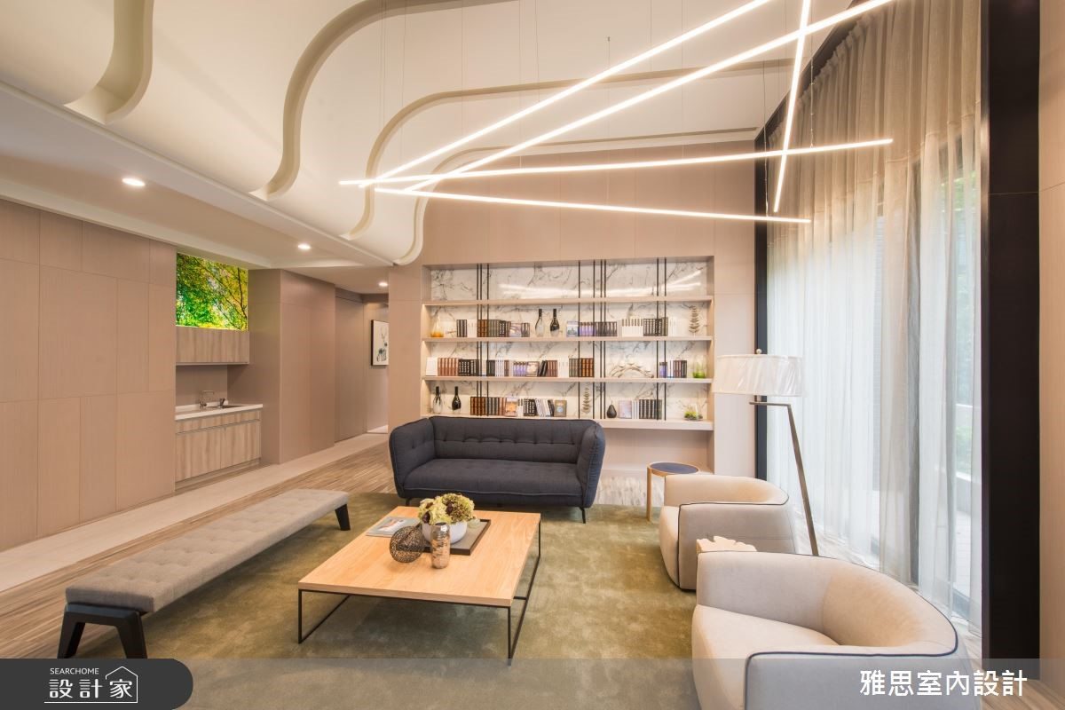 200坪新成屋(5年以下)_現代風商業空間案例圖片_雅思室內裝修有限公司_雅思_02之2