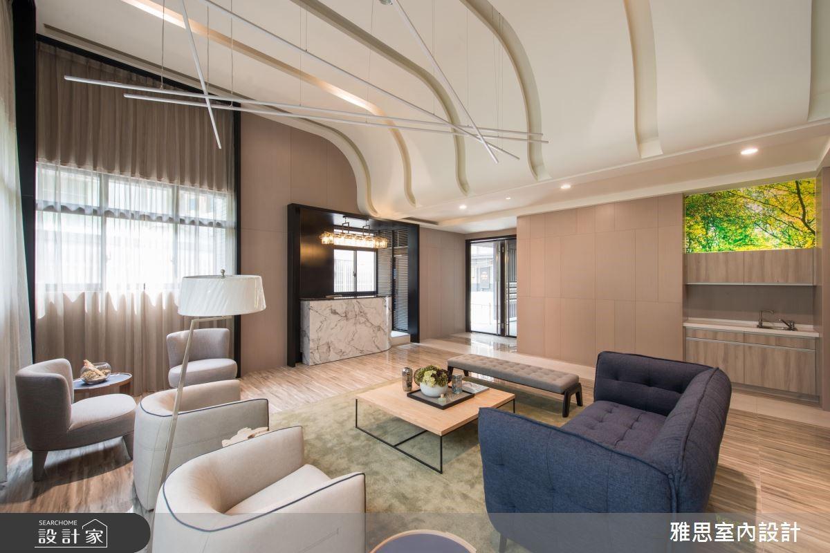 200坪新成屋(5年以下)_現代風商業空間案例圖片_雅思室內裝修有限公司_雅思_02之3