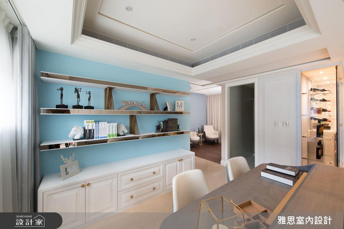 48坪新成屋(5年以下)_新古典書房案例圖片_雅思室內裝修有限公司_雅思_03之3