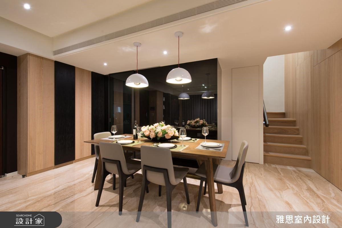 90坪新成屋(5年以下)_現代風餐廳案例圖片_雅思室內裝修有限公司_雅思_04之4