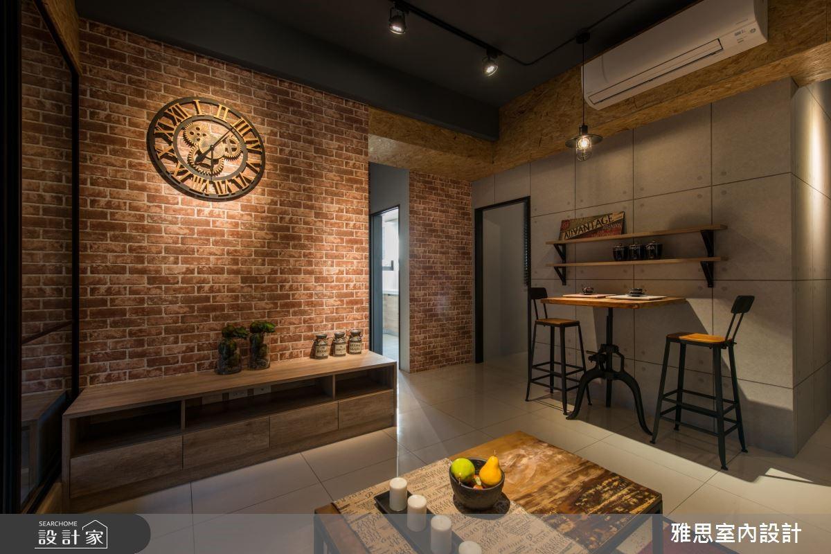 31坪新成屋(5年以下)_工業風客廳餐廳案例圖片_雅思室內裝修有限公司_雅思_07之3