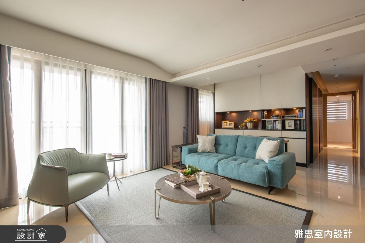70坪新成屋(5年以下)_現代風客廳案例圖片_雅思室內裝修有限公司_雅思_08之3
