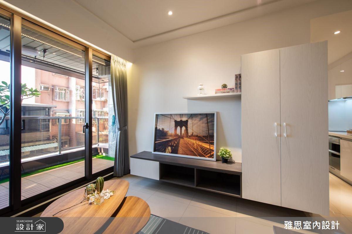22坪新成屋(5年以下)_簡約風客廳案例圖片_雅思室內裝修有限公司_雅思_10之4