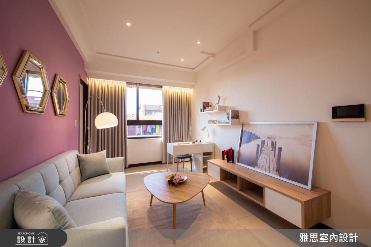26坪新成屋(5年以下)_美式風客廳案例圖片_雅思室內裝修有限公司_雅思_12之2