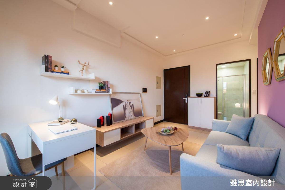 26坪新成屋(5年以下)_美式風客廳案例圖片_雅思室內裝修有限公司_雅思_12之3