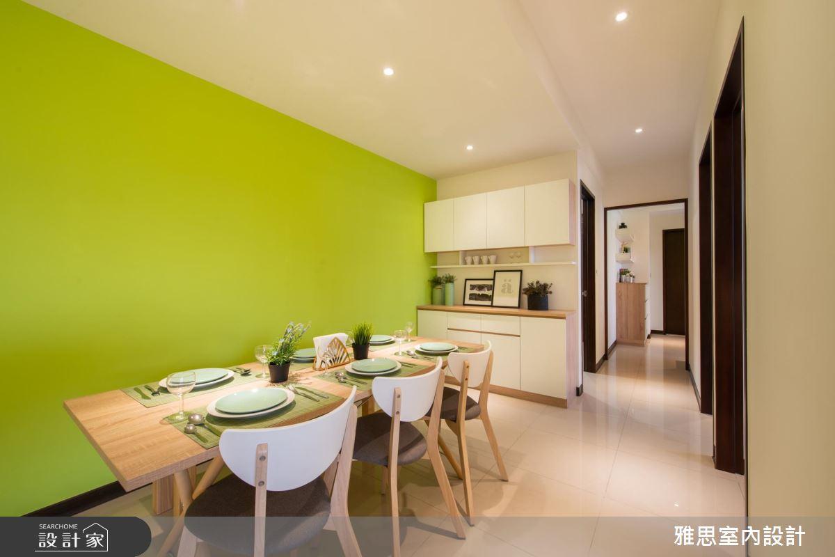 38坪新成屋(5年以下)_北歐風餐廳案例圖片_雅思室內裝修有限公司_雅思_13之3