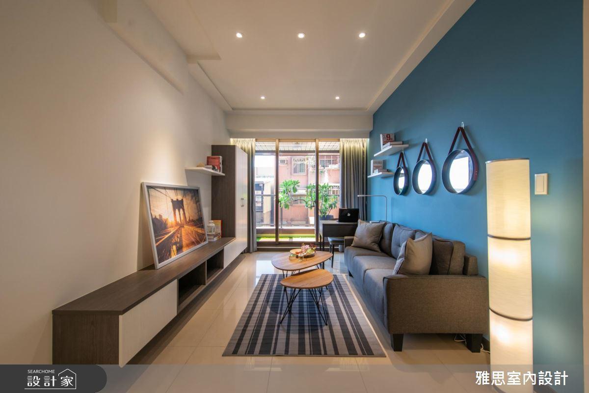 38坪新成屋(5年以下)_北歐風客廳案例圖片_雅思室內裝修有限公司_雅思_14之6