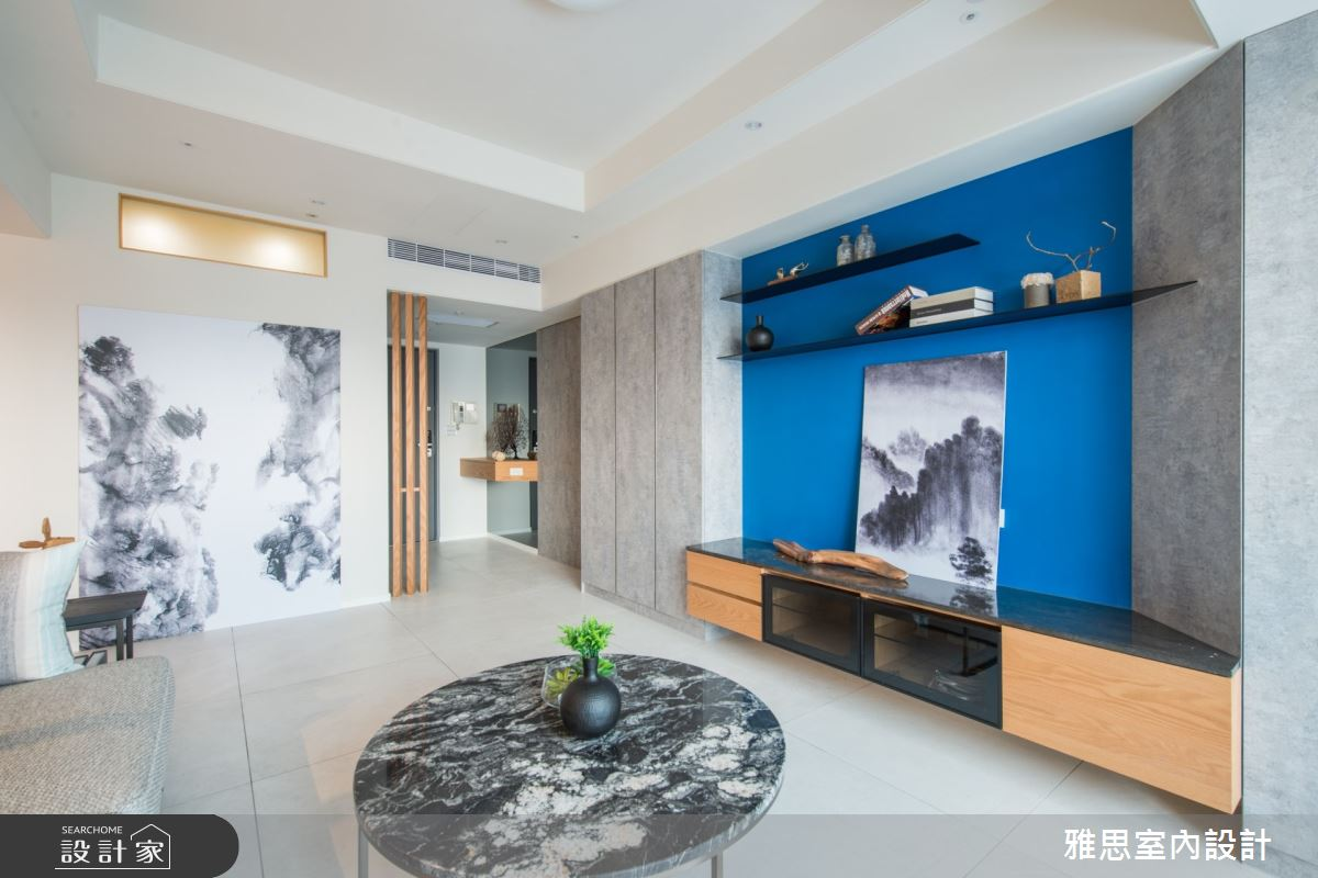 22坪中古屋(5~15年)_現代風客廳案例圖片_雅思室內裝修有限公司_雅思_15之3