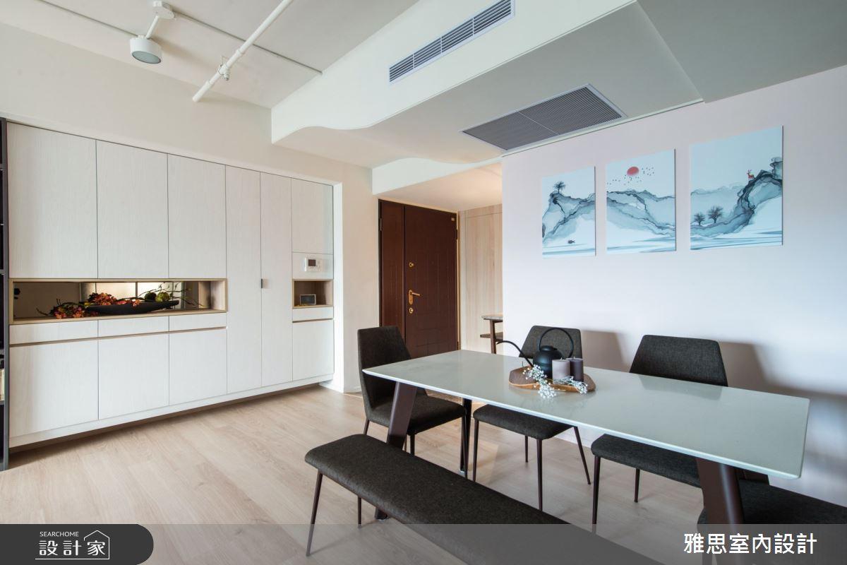 34坪中古屋(5~15年)_現代風餐廳案例圖片_雅思室內裝修有限公司_雅思_16之4