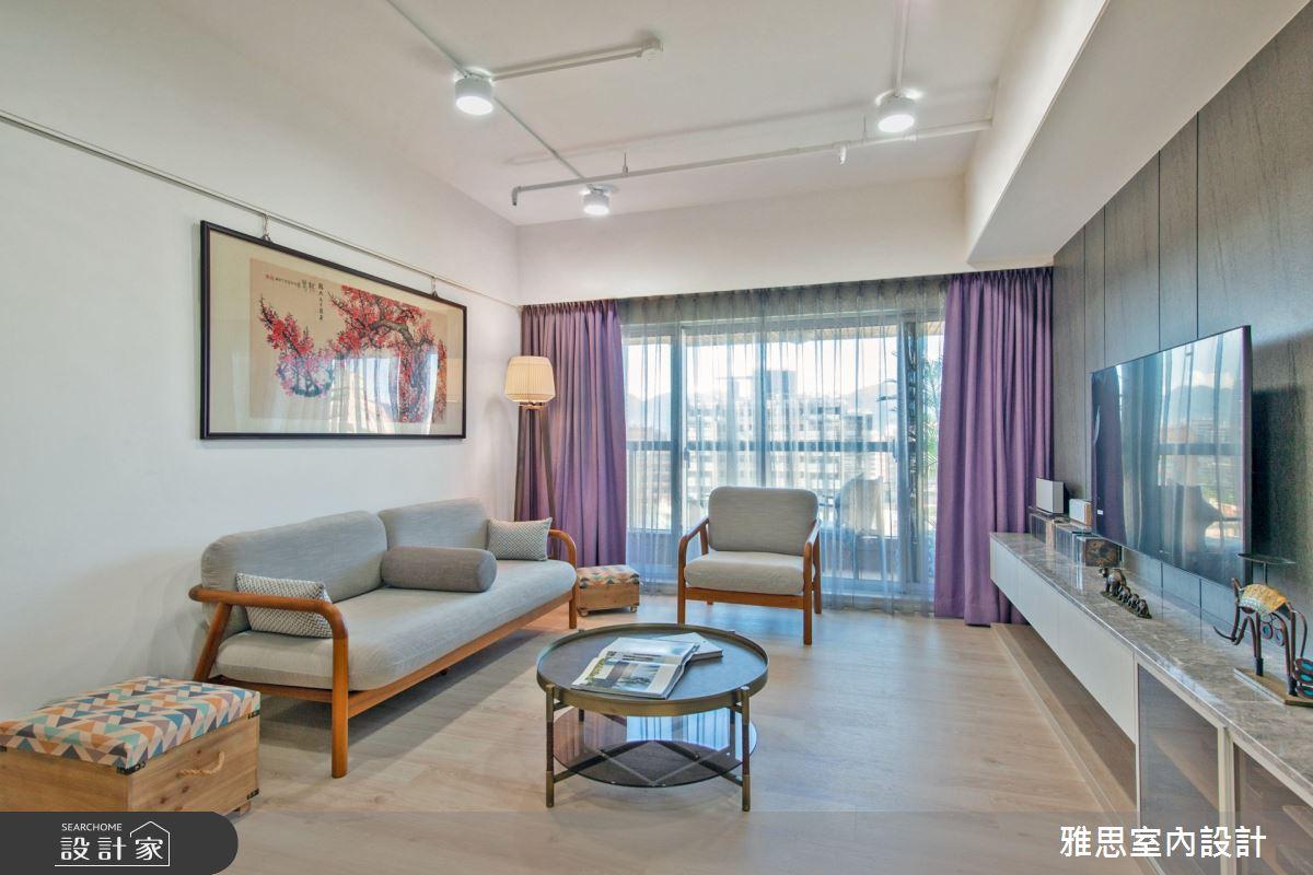 34坪中古屋(5~15年)_現代風客廳案例圖片_雅思室內裝修有限公司_雅思_16之1