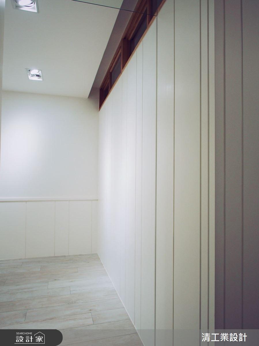 40坪老屋(31~40年)_混搭風客廳案例圖片_清工業設計_清工業_05之4
