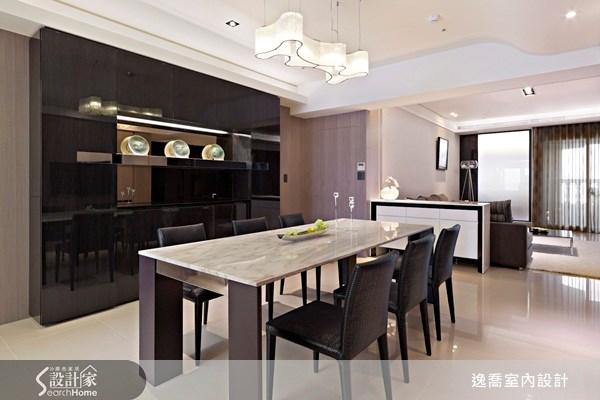 50坪新成屋(5年以下)_現代風餐廳案例圖片_逸喬室內設計_逸喬_04之4