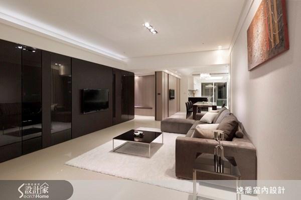 50坪新成屋(5年以下)_現代風客廳案例圖片_逸喬室內設計_逸喬_04之2