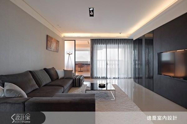 50坪新成屋(5年以下)_現代風客廳案例圖片_逸喬室內設計_逸喬_04之1